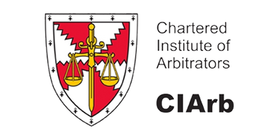 Chartered Institute of Arbitrators (CIArb) member logo, the professional body for dispute avoidance & dispute management