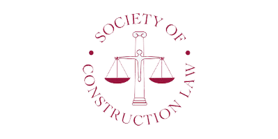 Society of Construction law member, supporting its aims to promote the adoption and understanding of construction law